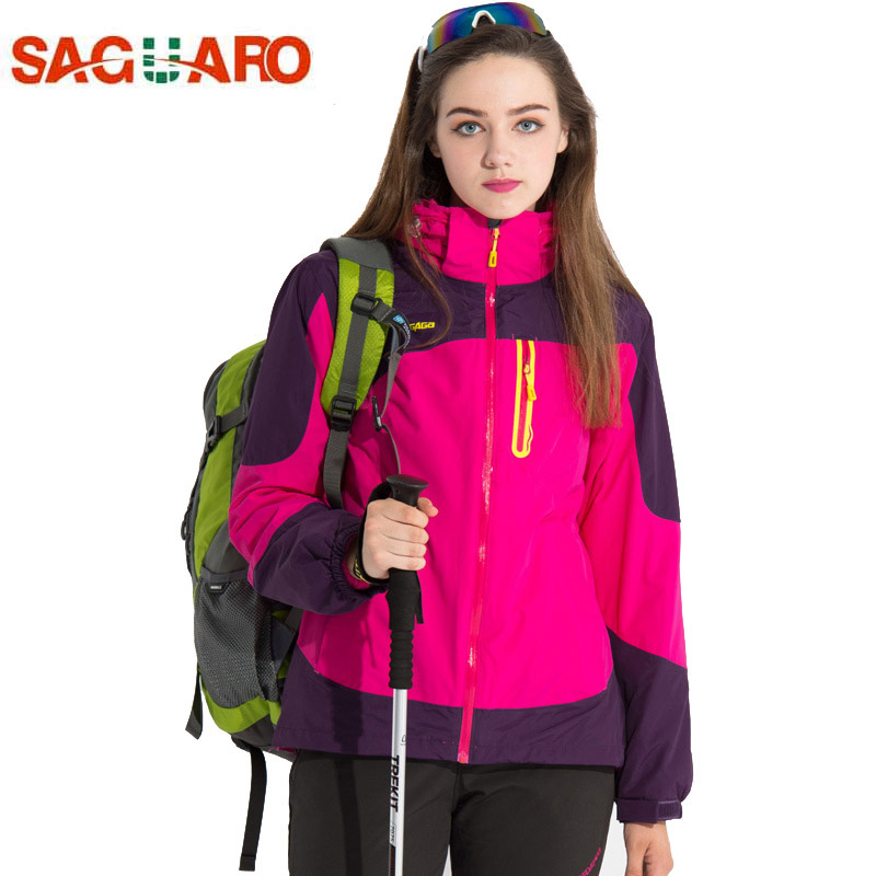 2017 Outdoor 3in1 Ski Jacket Women Waterproof Winter Warm Fleece Snow Jacket Thermal Coat Female Sports Skiing Snowboard Jackets 2017 outdoor 3in1 ski jacket women waterproof winter warm fleece snow jacket thermal coat female sports skiing snowboard jackets