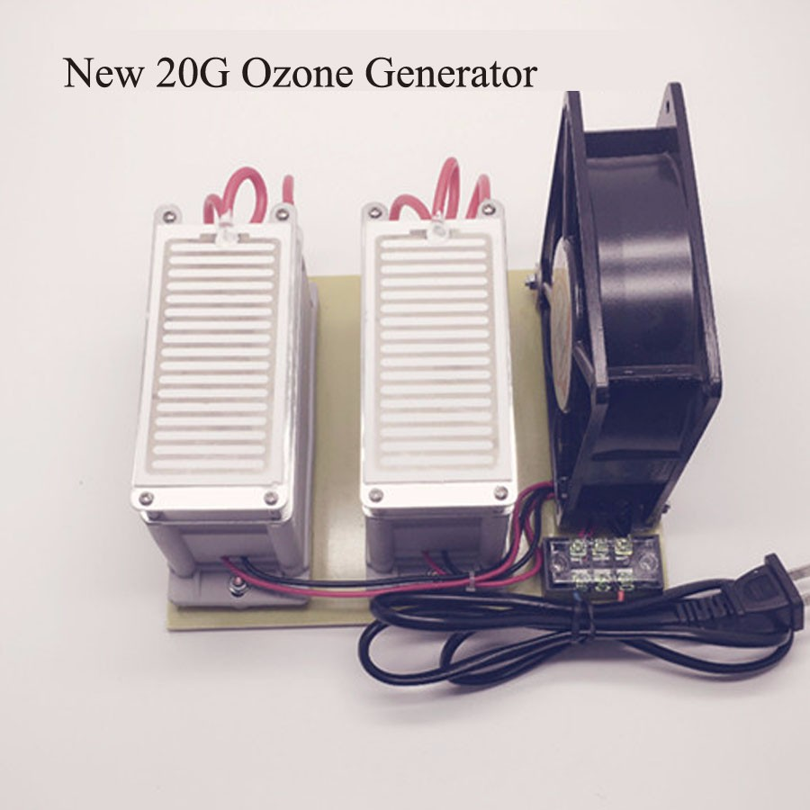 New 20G Portable Ozone Generator Air Purification Efficient Long Life Deodorization for Household 110 or 220V Free Shipping цены