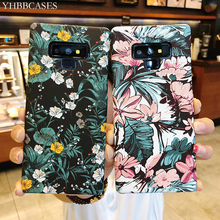 YHBBCASES Retro Cartoon Flowers Cases For Samsung