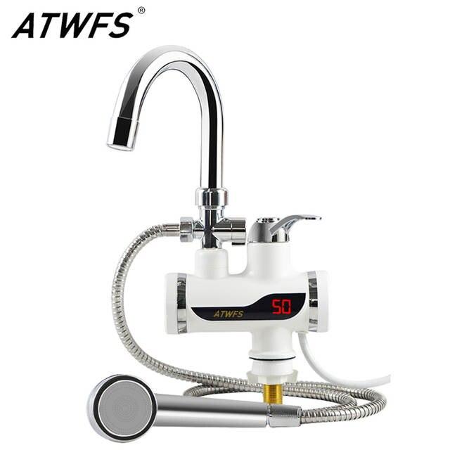 Super Online-Shop ATWFS Durchlauferhitzer Wasserhahn 220 v Küche VG54