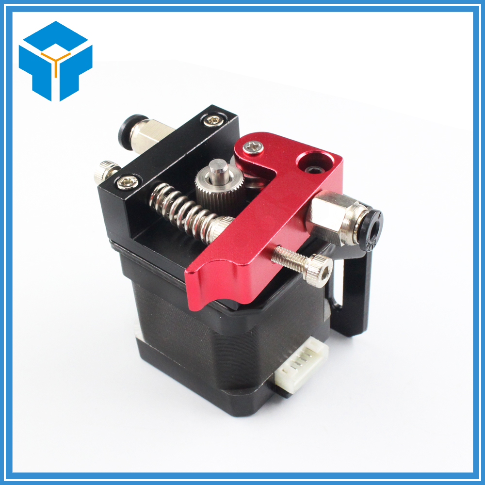 Improved Version Printer Parts Reprap Makerbot MK8 Full Metal Aluminum Alloy Bowden Extruder for 1.75MM Filament