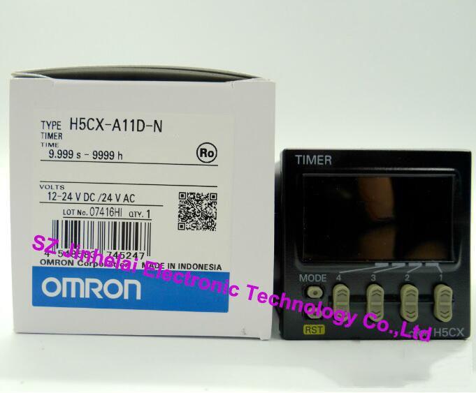 100 Authentic original H5CX-A11D-N H7CX-A4D-N OMRON Count relay 12-24VDC24VAC COUNTERTIMER