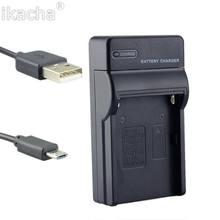 Chargeur de batterie de caméra EL8 ENEL8, câble USB pour Nikon Coolpix S3 S5 S6 S7 S7c