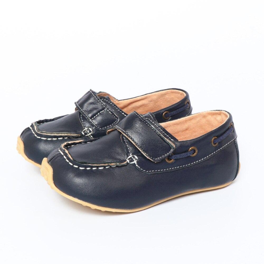 TipsieToes Marque Haute Qualité Véritable En Cuir Enfants Sneakers Garçons Et Filles Enfants Mocassins Chaussures 2017 Automne Printemps nmd Casual
