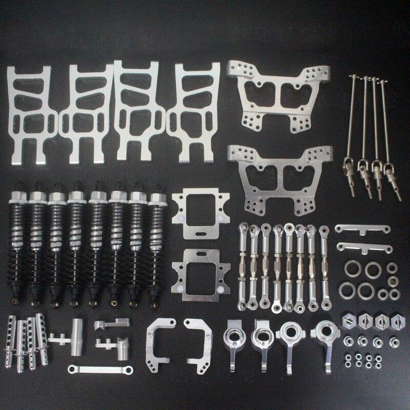 HSP 1:10 Bigfoot Elettrico 94111/94108 All Metallo Veicolo Kit di Aggiornamento Pezzi di Ricambio - 6