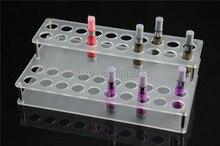 10ชิ้นอะคริลิcigอีกรณีแสดงบุหรี่อิเล็กทรอนิกส์ยืนshelfผู้ถือครองdisplay rackกล่องสำหรับอาตมาevodแบตเตอรี่clearomizer DHL