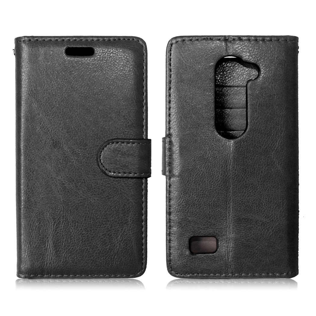 Горячая Распродажа, модный кожаный чехол-книжка для LG Leon C40 4G LTE с фоторамкой, стильный бумажник, Классический чехол с 3 держателями для карт