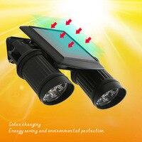 ضوء الشمسية بدعم 14 المصابيح أضواء ماء الأمن pir motion الاستشعار مصباح لل شارع فناء الحديقة في الدرج-m25
