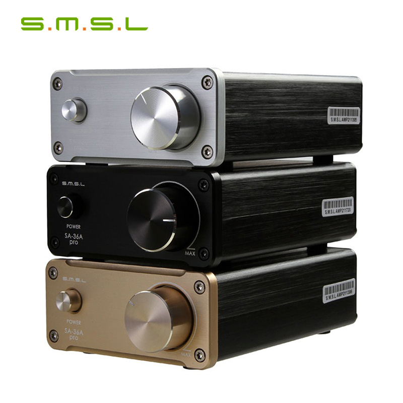 SMSL SA-36A Pro 20WX2 TDA7492PE Hifi Stereo Class D Verstärker mit 15V Power adapter