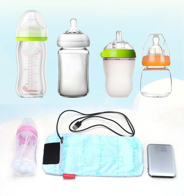 USB Bottle Bag For Feeding Heater For Bottles Bag For Stroller Baby Food Feeding Bottle For Infants Mamaderas De Bebe Biberon