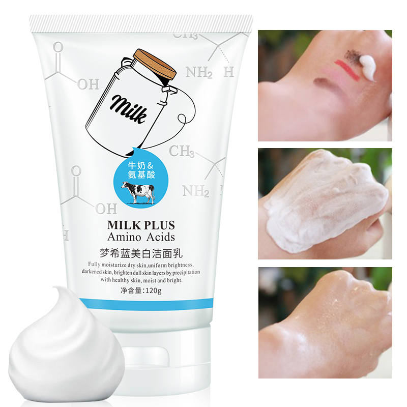 Promotion Limited MENGXILAN Amino Acid Facial Cleanser Moisturizing Acne Treatment Remove Blackhead Daily Face Wash Skin Care - 4