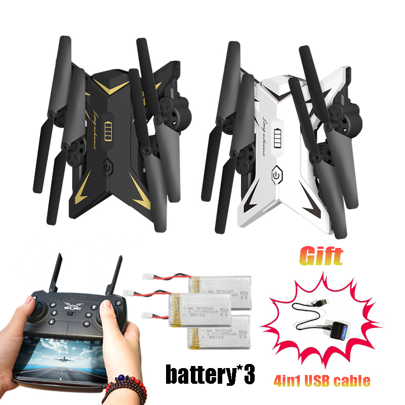 RC Drone Quadcopter Drones with 1080P WIFI Camera HD WiFi FPV Altitude Hold Headless Mode Dron Long Action Time mini q39w drone rc quadcopter helicopter drones dron with wifi fpv 720p hd headless mode altitude hold aircraft toy for boys