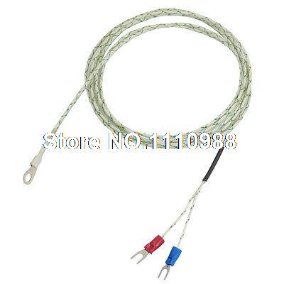 800 Celsius 9mm x 5mm Probe Ring 6.6Ft K Type Thermocouple Temperature Sensor rondell кастрюля walzer 2 4 л 20 см rda 765 rondell