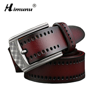 HIMUNU 2016 Top Cow Genuine Leather Men S Belt Designer Belts Men High Quality Pin