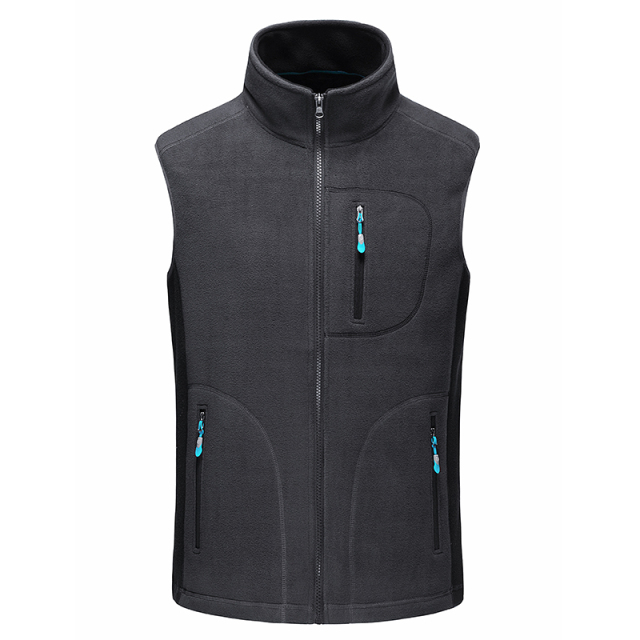 Icpans new spring vest Men upset fashion casual Waist Coats For Men Slim Zipper Short colete Cashmere Vest Jacket Men's Vest