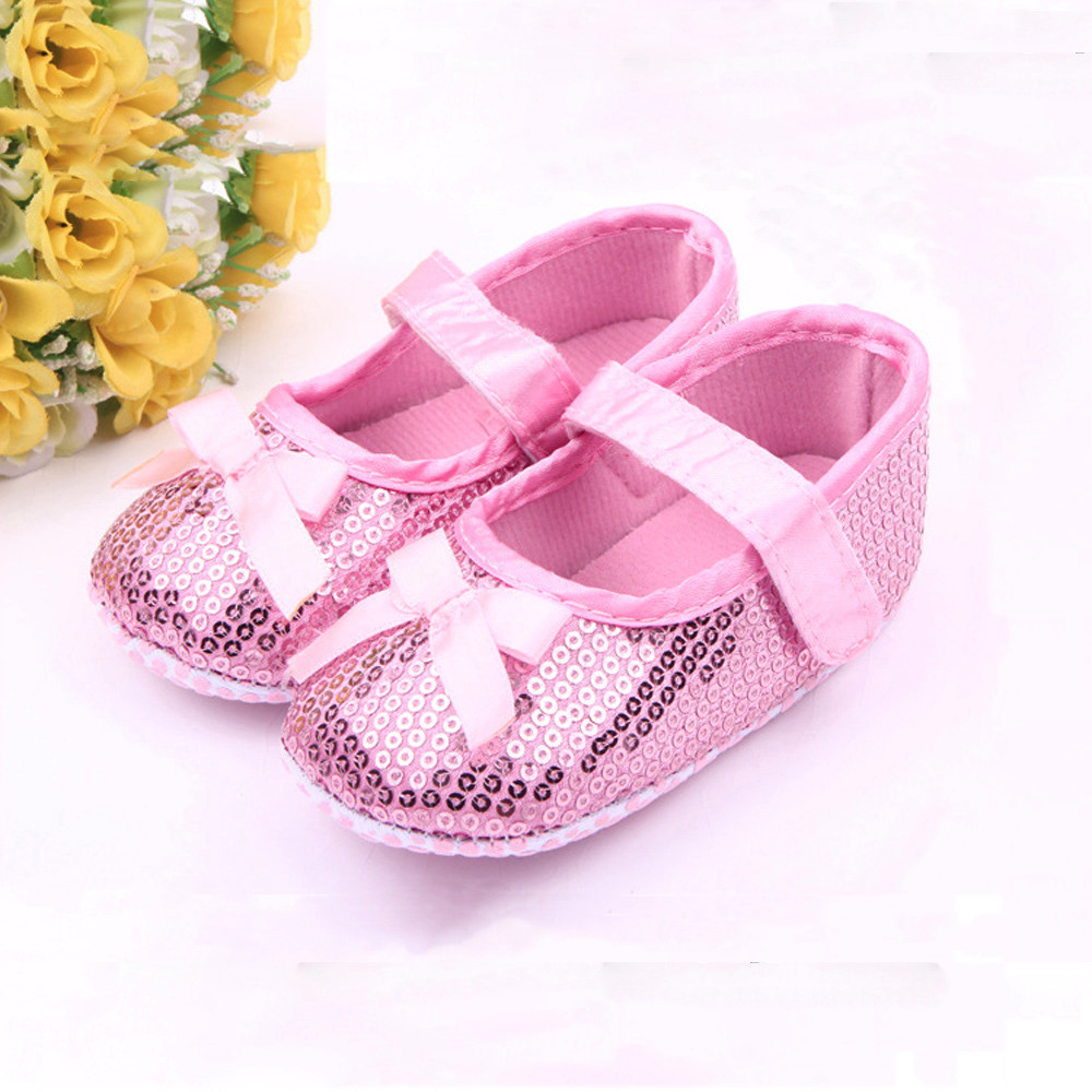Toddler Shoes First-Walkers Sequins Soft-Sole Infant Fashion