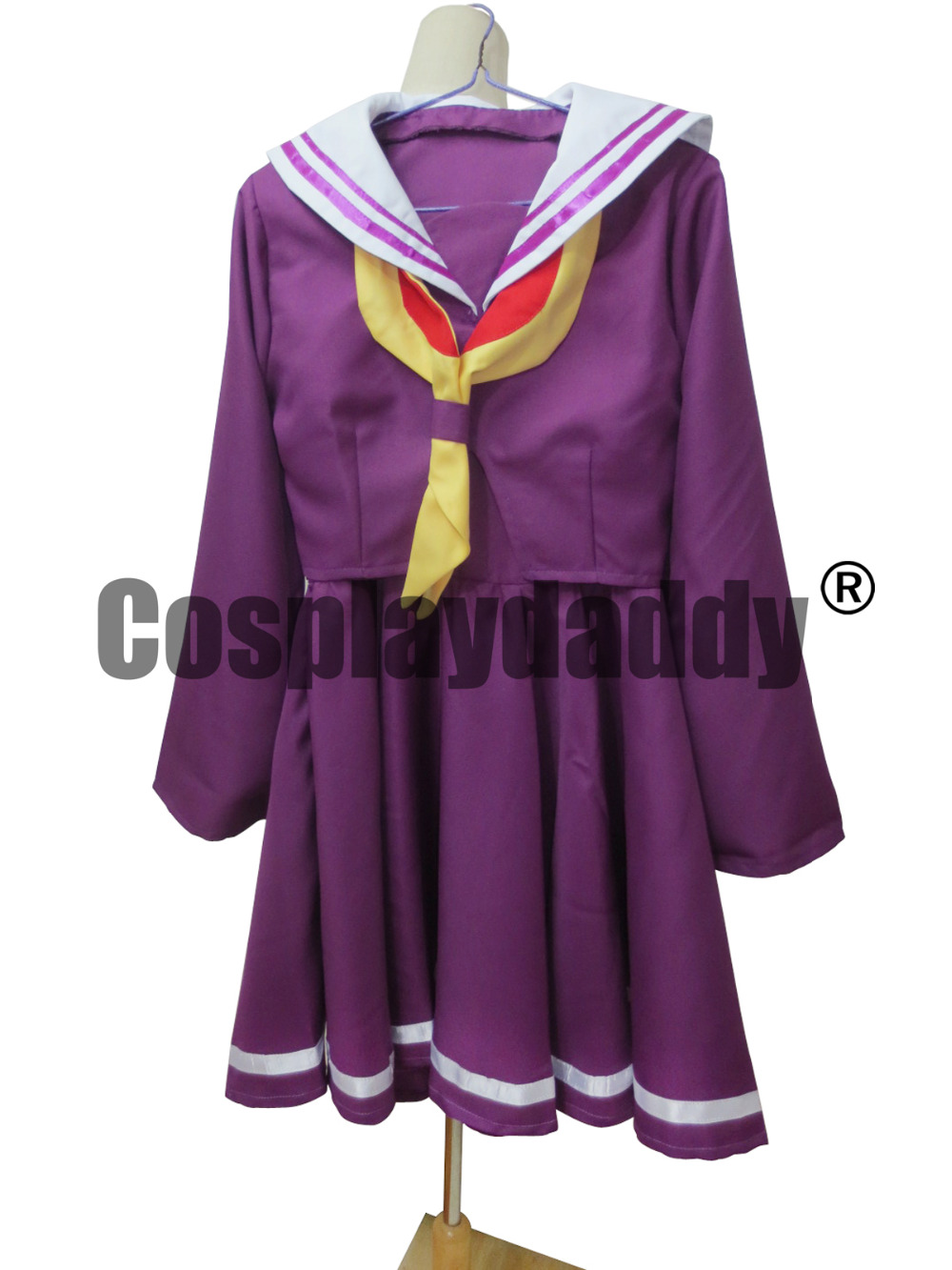 No Game No Life Shiro Violet version bas adultes Nouveau Mignon Cadeau Pour Costume