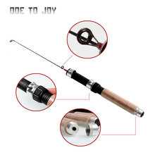 Mini rod Winter rod Small Portable Ice Fishing Rod Pole Mini Price Valve Facing Fishing Rods Pen Sporting Spinning Hard casting