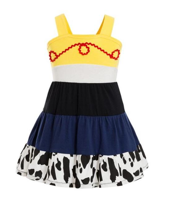 Toy Story and Beyond Jessie Costume Toy Story3 Child buzz Costume Cowgirl Toy Story Jessie Tunic Tank dress toddler dresses 1