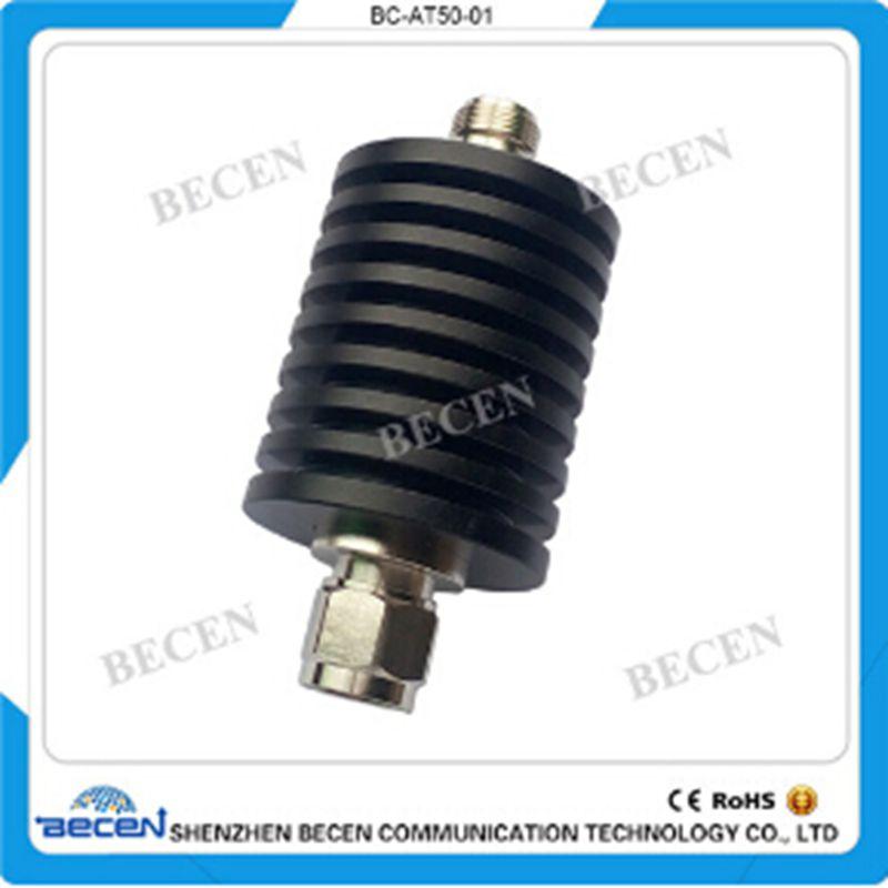 30W N-JK Coaxial RF Attenuator  DC-3GHz N-type 50 ohm,1db,3db,5db,6db,10db,15db, 20dB,30dbFree Shipping free shipping 10w rf attenuator coaxial dc 3ghz n type 6db