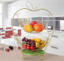 Creative fruit basket multi-function candy box of continental plate