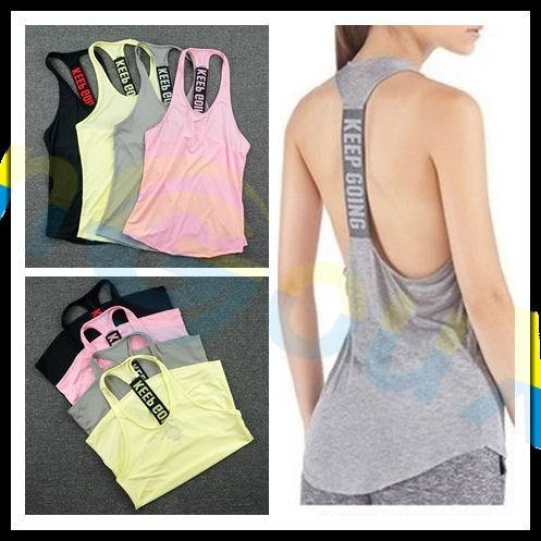 Yoga sleeveless vest