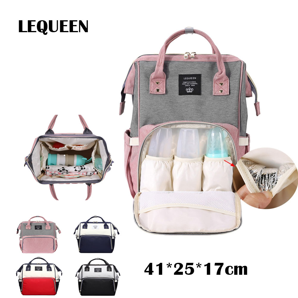 Mummy maternity diaper handbag graffiti large baby nursing travel backpack stroller accessories baby care baby bag nappy in diaper bags from mother kids