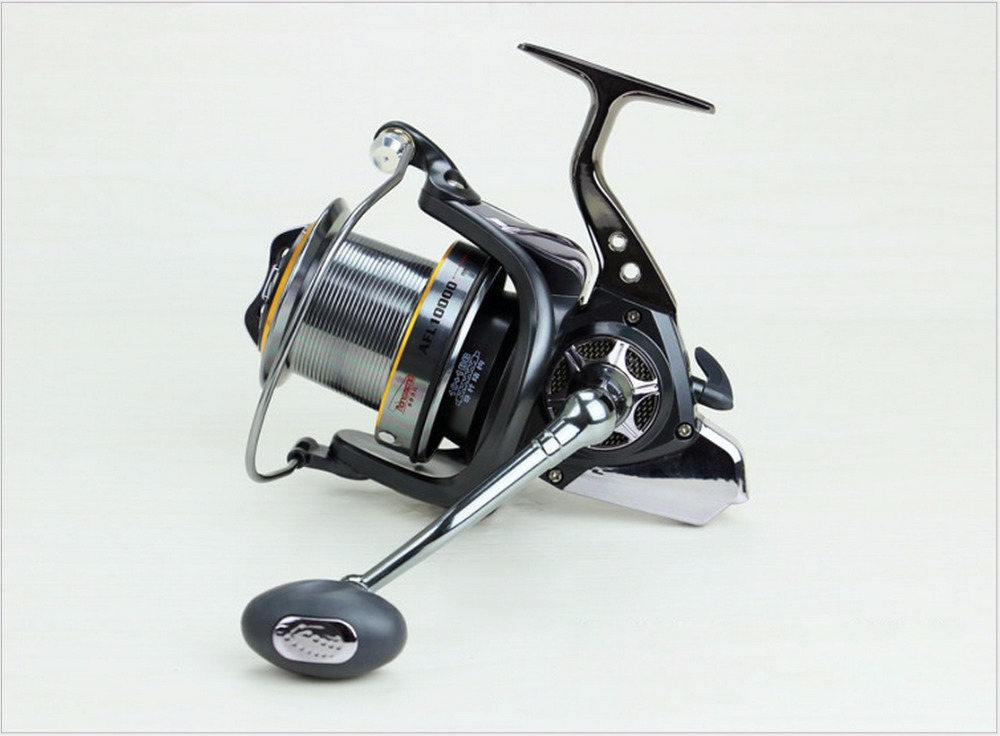 HOT SALES AFL inshore ICE FLY CARP spinning fishing reel 11 stainless steel Ball Bearings FULL METAL EXTRA LONG DISTANT WHEEL
