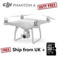 Versión de LA UE Cámara Drone DJI Phantom 4 Drone con Cámara 4 K Phantom 4 REINO UNIDO Stock Libre de Impuestos Duty Free