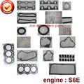 Полный ремонт  капитальный ремонт  полный комплект прокладок двигателя для Mitsubishi: S6E