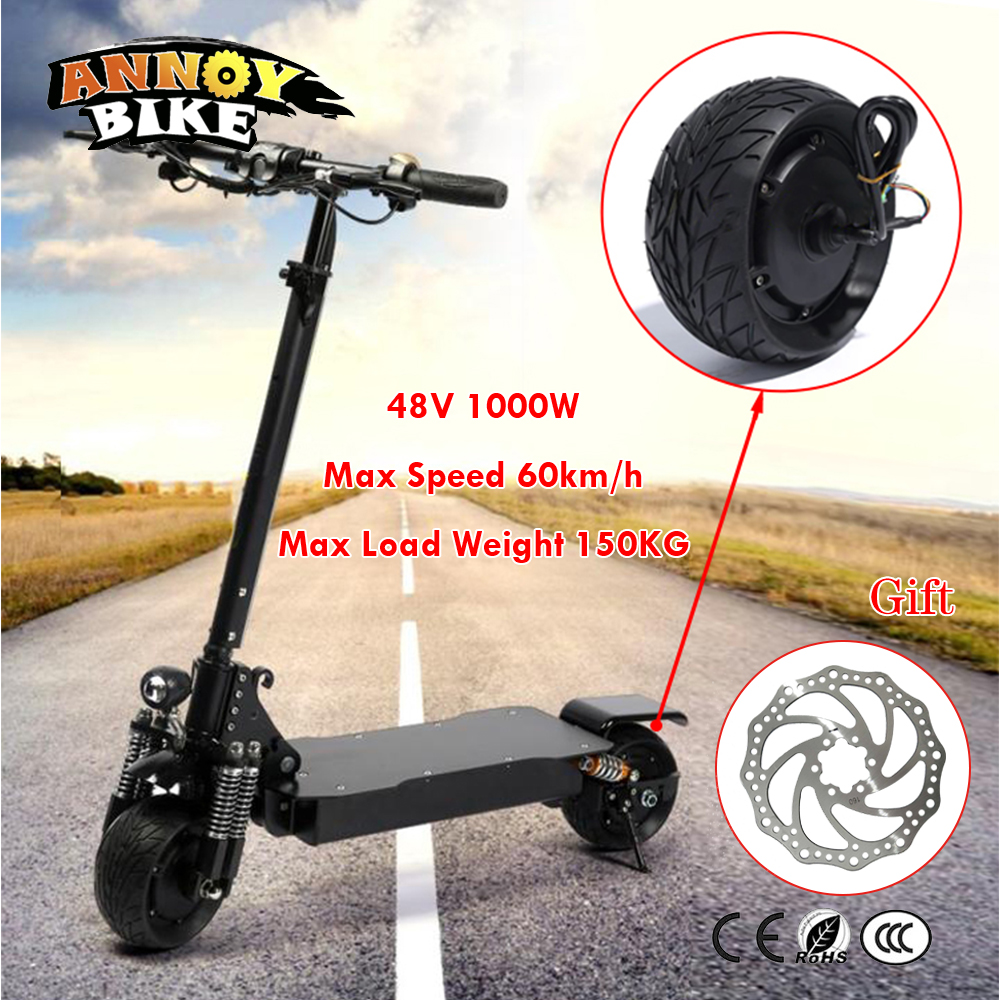 48V 1000W 8 Inch Electric Bicycle Scooter Motor Fat Tire 200*90 8''wheel Brushless Toothless Hub Motor E bike Engine Wheel Motor electric motorcycle 60v1000w brushless non gear hub motor 225 55 8 tire vacuum tire for electric bicycle wheel motor