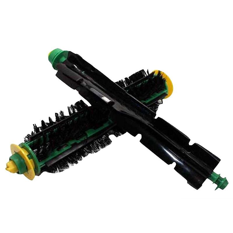 High Quality Bristle & Flexible Beater Brush for iRobot Roomba 500 Series Vacuum Cleaner Parts 520 530 540 550 560 1 piece robot hepa filter replacement for irobot roomba 500 series 520 530 540 550 560 vacuum cleaner parts