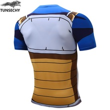 Dragon Ball Z – Vegeta Cell Saga Battle Saiyan Armor 3D Workout T-Shirt