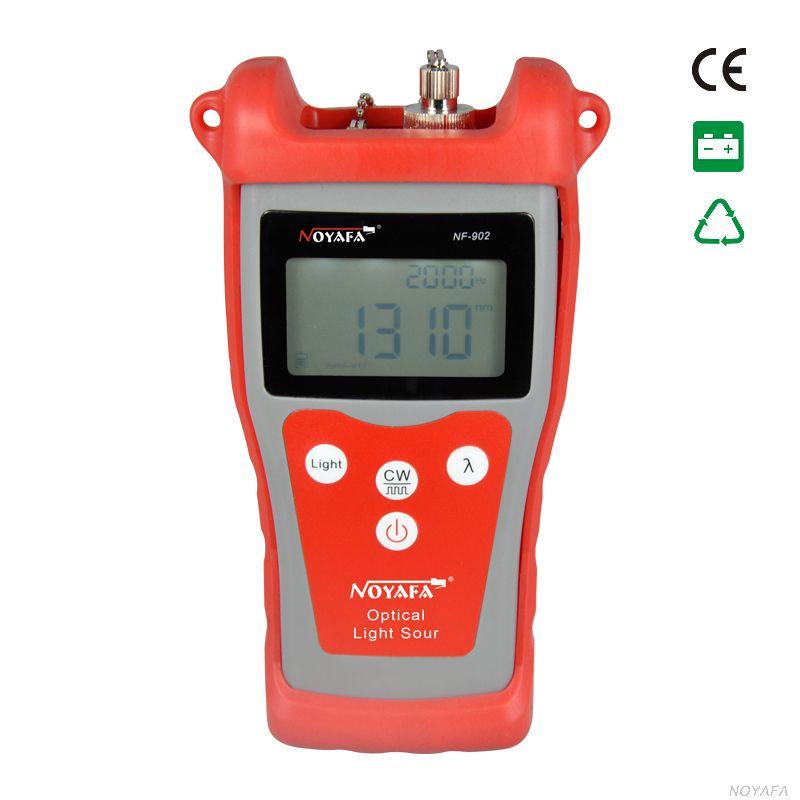 Оригинальный Noyafa NF 902 оптический источник света Оптическое волокно тестер Оптический Мощность метр тестер Визуальный дефектоскоп