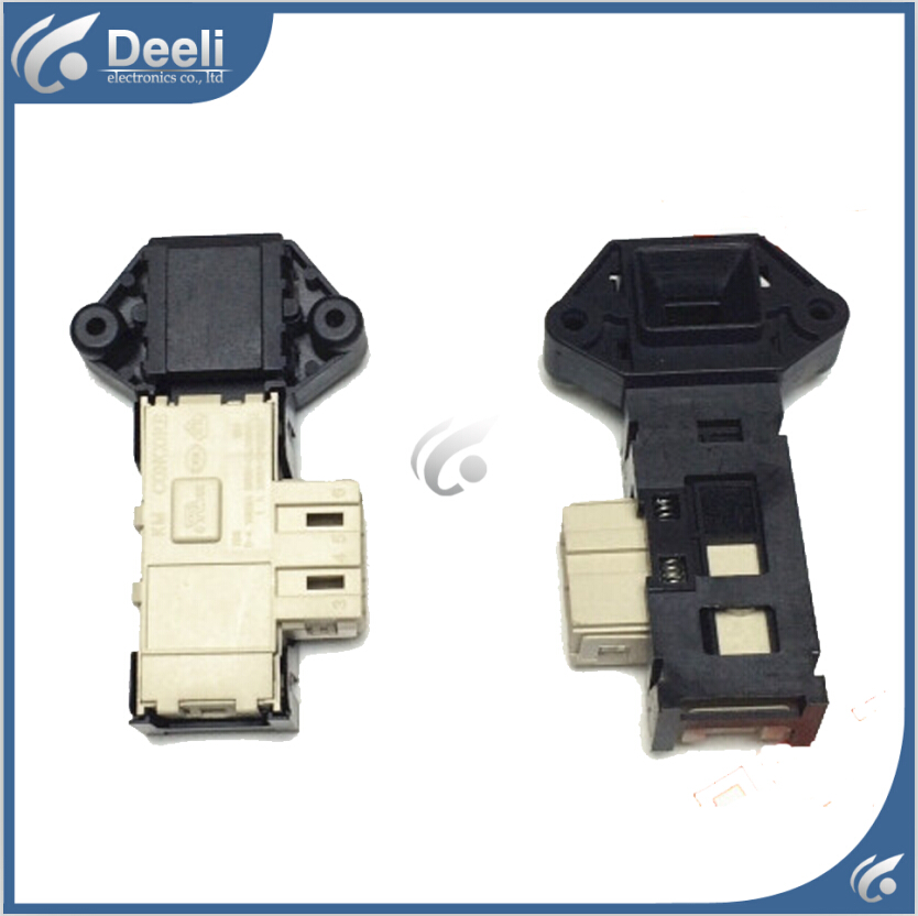 Original 95% new used for Sanyo Washing Machine Blade Electronic door lock delay switch original new for lg drum washing machine door hinge 42741701 1pcs