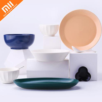 The latest original xiaomi mijia quality four seasons enamel tableware kitchen appliances smart home