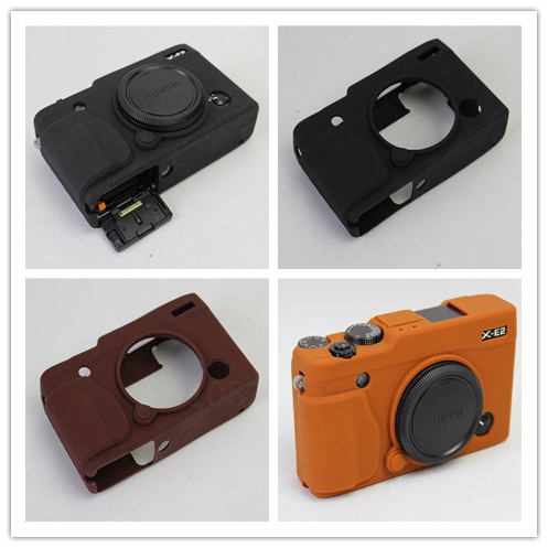 Nice Soft Silicone Rubber Camera Protective Body Cover Case Skin Camera case bag Leather Bag Case