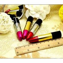 usb custom logo Funny Metal Lipstick model USB 2.0 Memory Stick Flash pen Drive 4GB 8GB 16GB 32GB