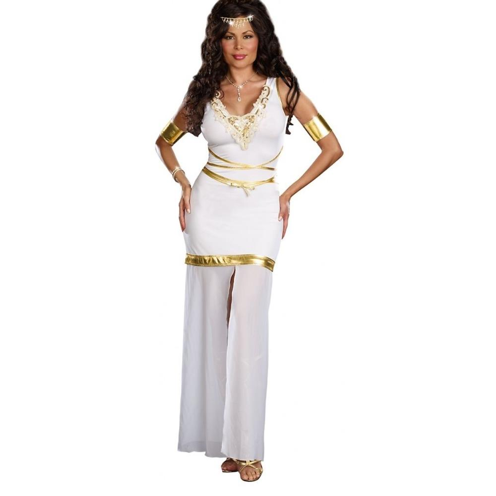 2016 Greek Goddess Of Love Costume Adult Aphrodite Halloween Fancy Dress  Elegant Fashion Cosplay Queen Role Play A542863-in Sexy Costumes from  Novelty ...
