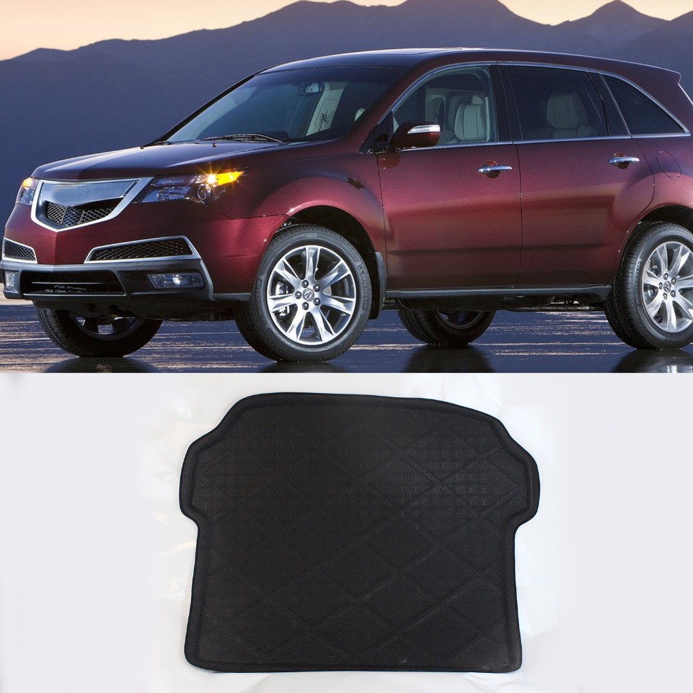 3D Black Waterproof All Weather For Acura MDX 2007 2015