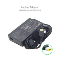 100% Original 20V 3.25A 65W Slim AC Adapter For Lenovo G400 G500 With USB Pin ADLX65SLC2A 36200351 Laptop Power Chargers