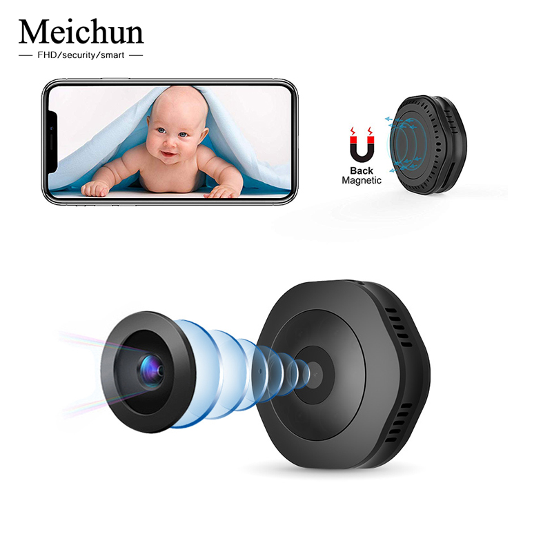 Meichun H6 Wifi Mini IP Camera Night Version Micro Camera outdoor Motion Sensor Camcorder Voice Video Recorder Small CamerMeichun H6 Wifi Mini IP Camera Night Version Micro Camera outdoor Motion Sensor Camcorder Voice Video Recorder Small Camer
