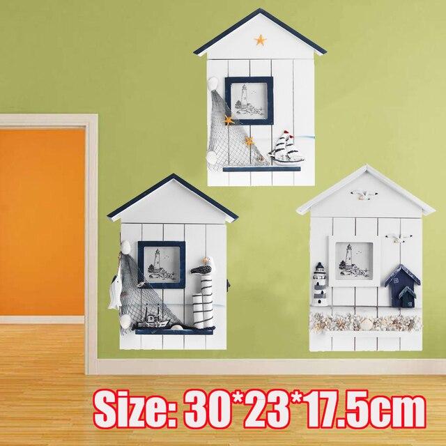 Wooden Key Box Rack Cabinet KEYS Holder Hooks Storage Shabby Chic Wall  Mounted