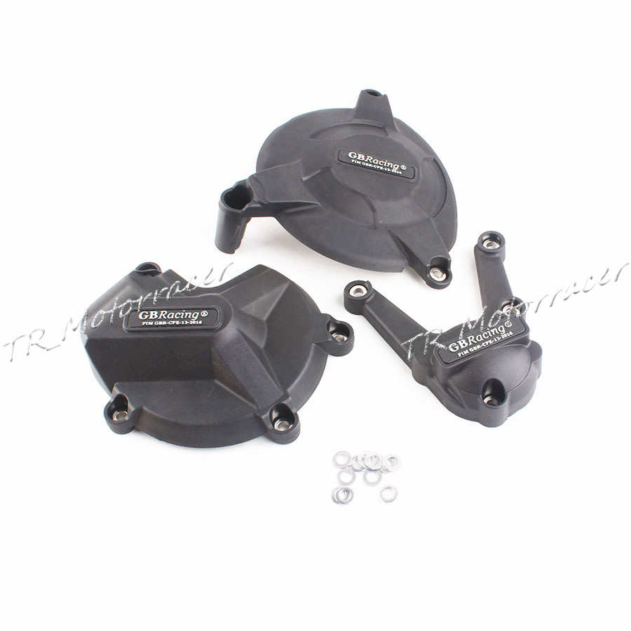 For BMW S1000RR 09-14 Engine Stator Crank Case Cover S1000 RR 2010 2011 2012 13 Black Carbon Fiber + ABS Plastic New