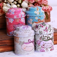 Europe Style High Quality 6PCS SET Tin Box Multi Use Case Candy Or Tea Can Set
