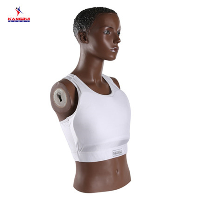 330fdec4d5751 Good quality female Boxing bra chest Protector breast pad karate guard  women Bounce vest MMA Underwear