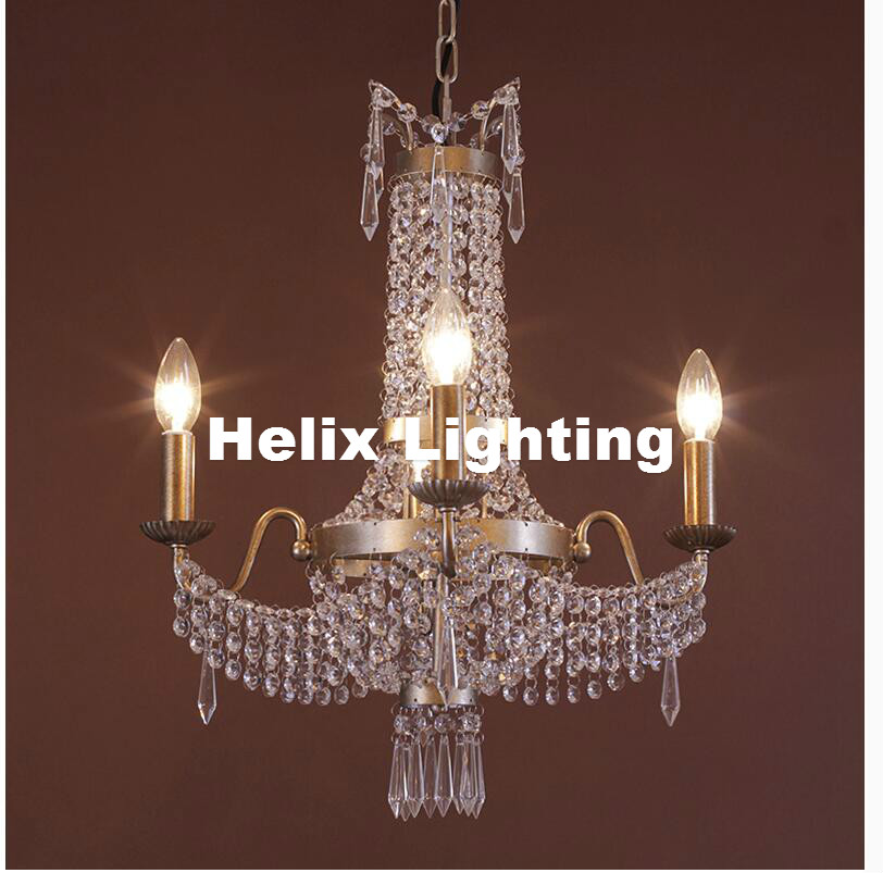 Free Ship! Nordic Vintage Crystal Chandelier Nordic E14 Iron Creativity Coffee Bar Dining Room Chandelier Indoor Light Fixtures vintage clothing store personalized art chandelier chandelier edison the heavenly maids scatter blossoms tiny cages