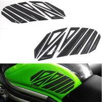 FASP motorcycle fuel tank side 5D carbon fibre carbon fiber stickers decals for SUZUKI Honda Harley Yamaha Bajaj KTM Universal