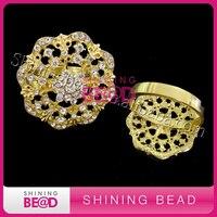 50 шт./лот + + позолота кольца для салфеток для свадеб, ужины, вечеринки или повседневной Применение