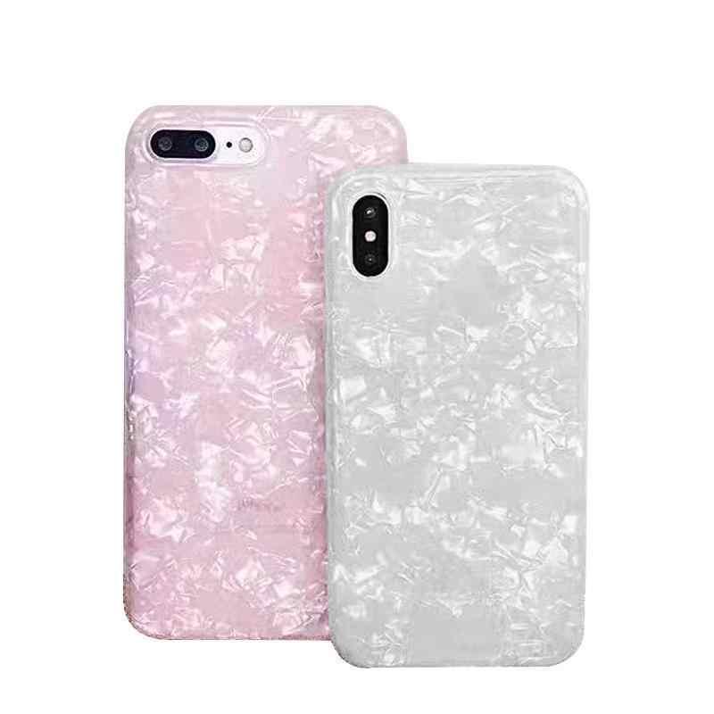 Para iphone 6 6 S funda de lujo para mujeres silicona suave Color puro teléfono Coque para iphone X 7 8 plus 5 5S SE Fundas Capas
